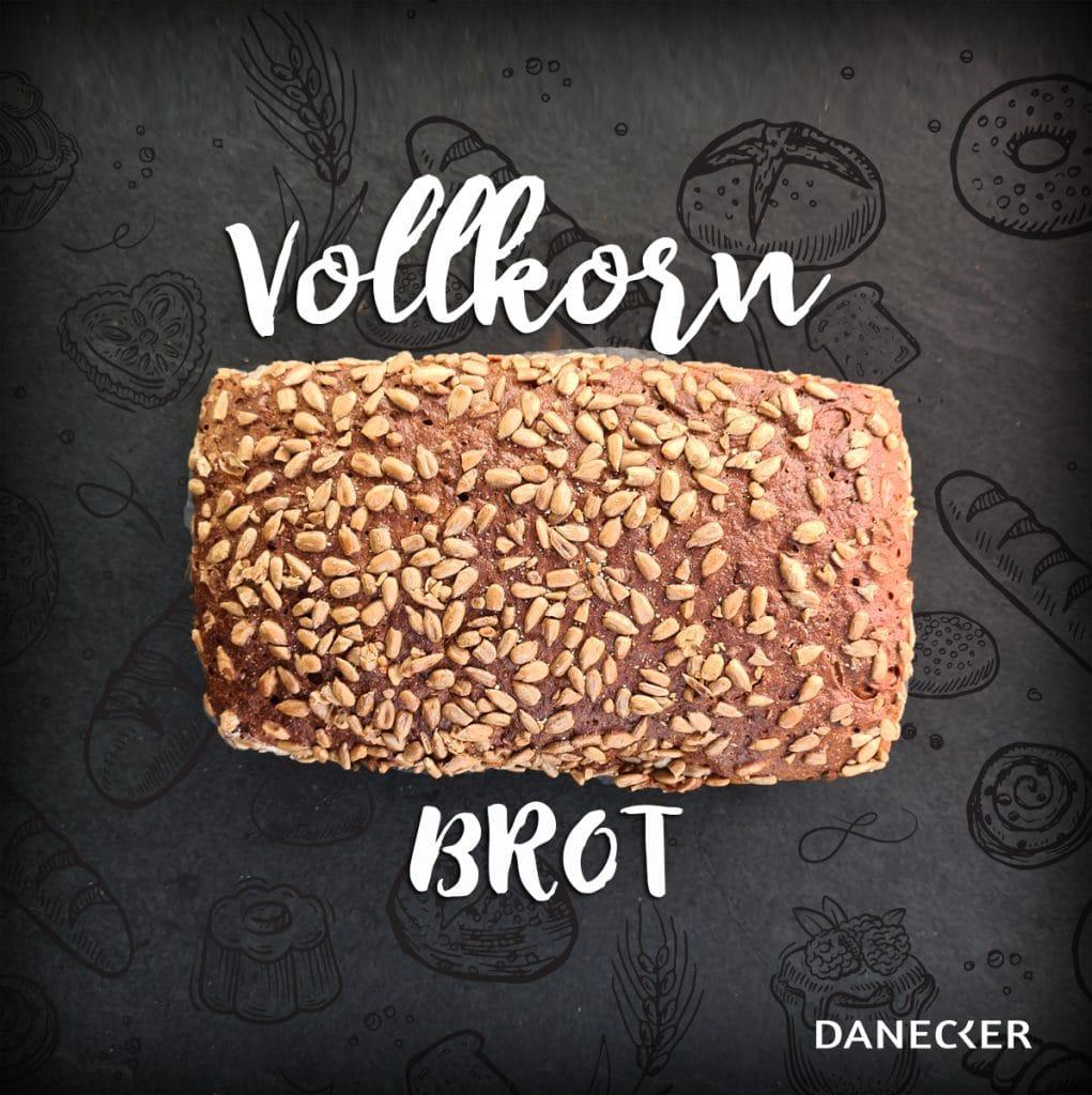 Vollkorn brot regionales Mehl Sauerteig Sauerteigbrot Vollkorn Gebäck Danecker Bäckerei Konditorei Amstetten Bahnhof, Allersdorf, Greinsfurth, Perg, Linz, Wallsee, Aschbach, Maue