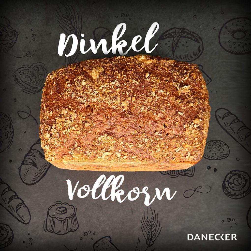 Dinkel vollkorn Brot Danecker Bäckerei Konditorei Amstetten Bahnhof, Allersdorf, Greinsfurth, Perg, Linz, Wallsee, Aschbach, Mauer