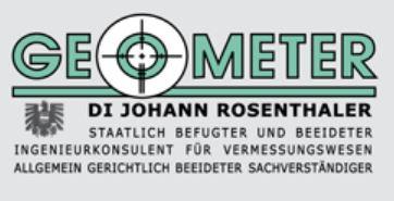 Geometer Johann Rosenthaler Mostviertel Partner Bäckerei Konditorei Danecker