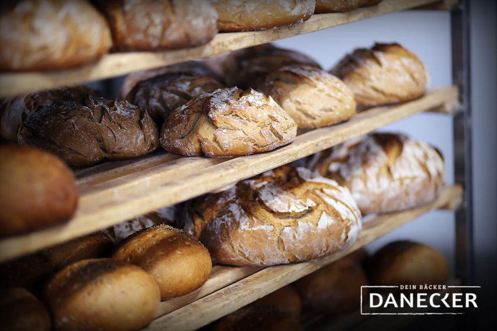 Backstube Brot Sauerteig Sauerteigbrot Vollkorn Gebäck Danecker Bäckerei Konditorei Amstetten Bahnhof, Allersdorf, Greinsfurth, Perg, Linz, Wallsee, Aschbach, Maue