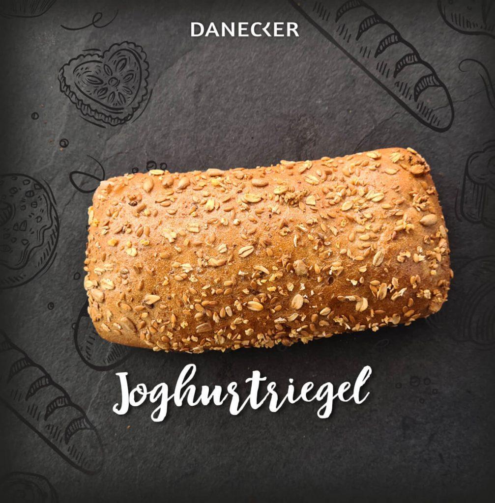 Joghurtriegel Gebäck Danecker Bäckerei Konditorei Amstetten Bahnhof, Allersdorf, Greinsfurth, Perg, Linz, Wallsee, Aschbach, Mauer