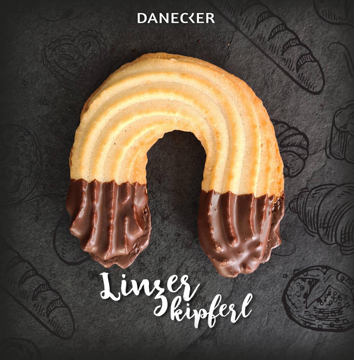 Linzerkipferl Mehlspeisen Danecker Bäckerei Konditorei Amstetten Bahnhof, Allersdorf, Greinsfurth, Perg, Linz, Wallsee, Aschbach, Mauer