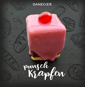 Punschkrapfen Mehlspeisen Danecker Bäckerei Konditorei Amstetten Bahnhof, Allersdorf, Greinsfurth, Perg, Linz, Wallsee, Aschbach, Mauer