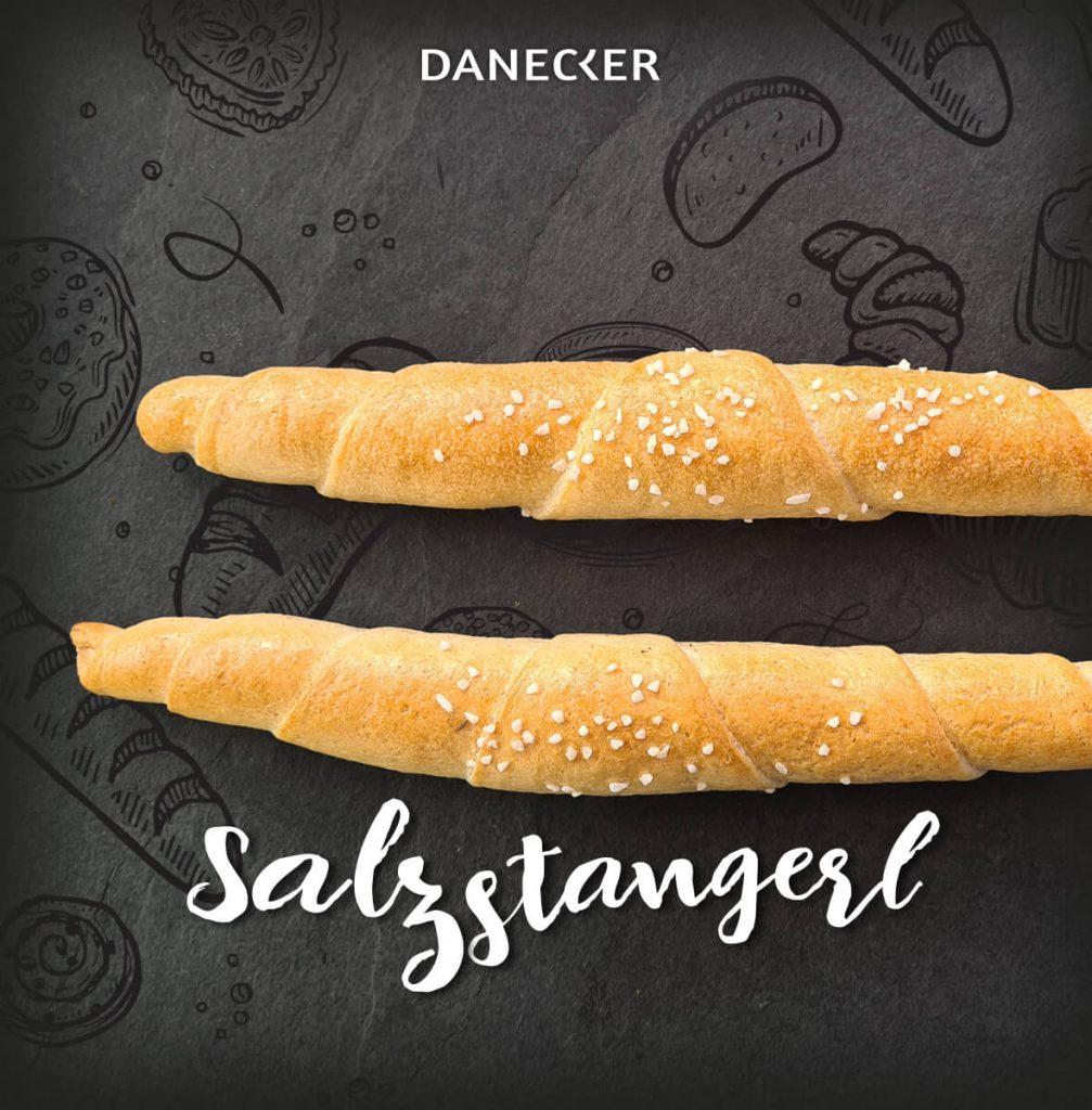 Salzstangerl Gebäck Danecker Bäckerei Konditorei Amstetten Bahnhof, Allersdorf, Greinsfurth, Perg, Linz, Wallsee, Aschbach, Mauer