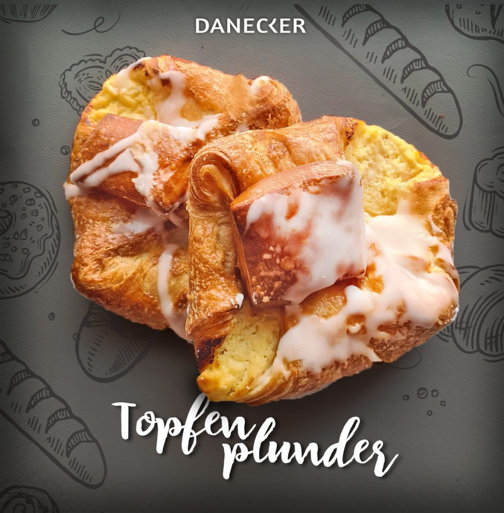 Topfenplunder Mehlspeisen Danecker Bäckerei Konditorei Amstetten Bahnhof, Allersdorf, Greinsfurth, Perg, Linz, Wallsee, Aschbach, Mauer