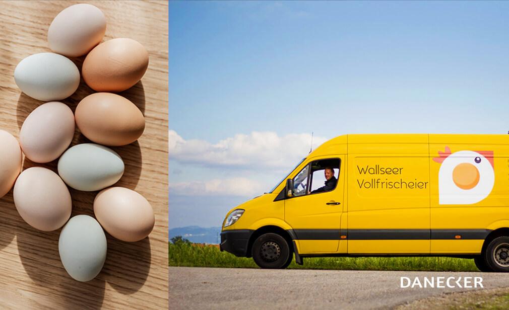 Eier aus Wallsee hagler Brot Sauerteig Sauerteigbrot Vollkorn Gebäck Danecker Bäckerei Konditorei Amstetten Bahnhof, Allersdorf, Greinsfurth, Perg, Linz, Wallsee, Aschbach, Mauer